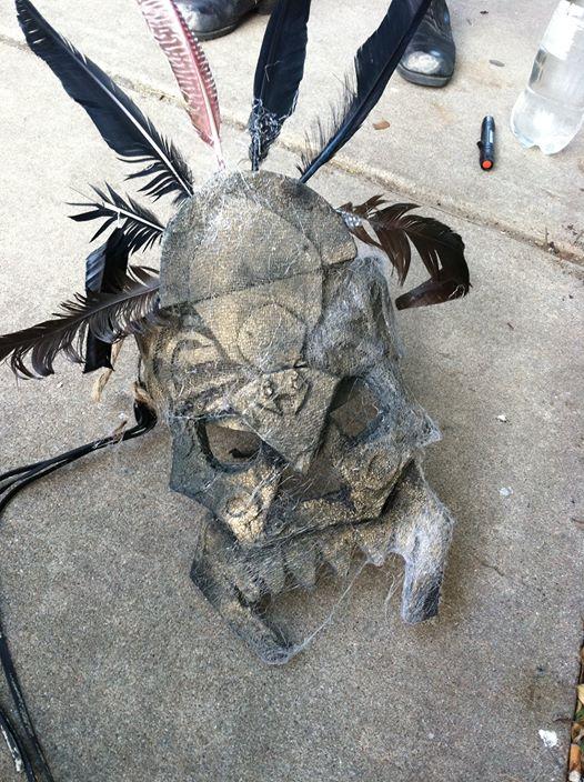 Jah'Mey Tribal Helmet