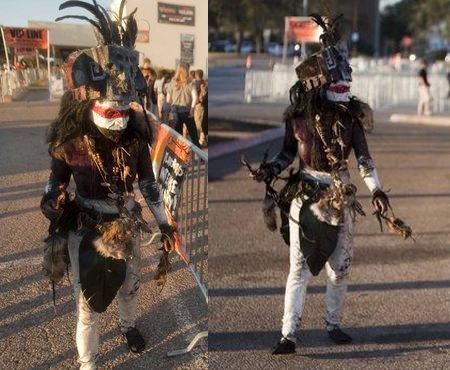 Full Body Tribal Costume