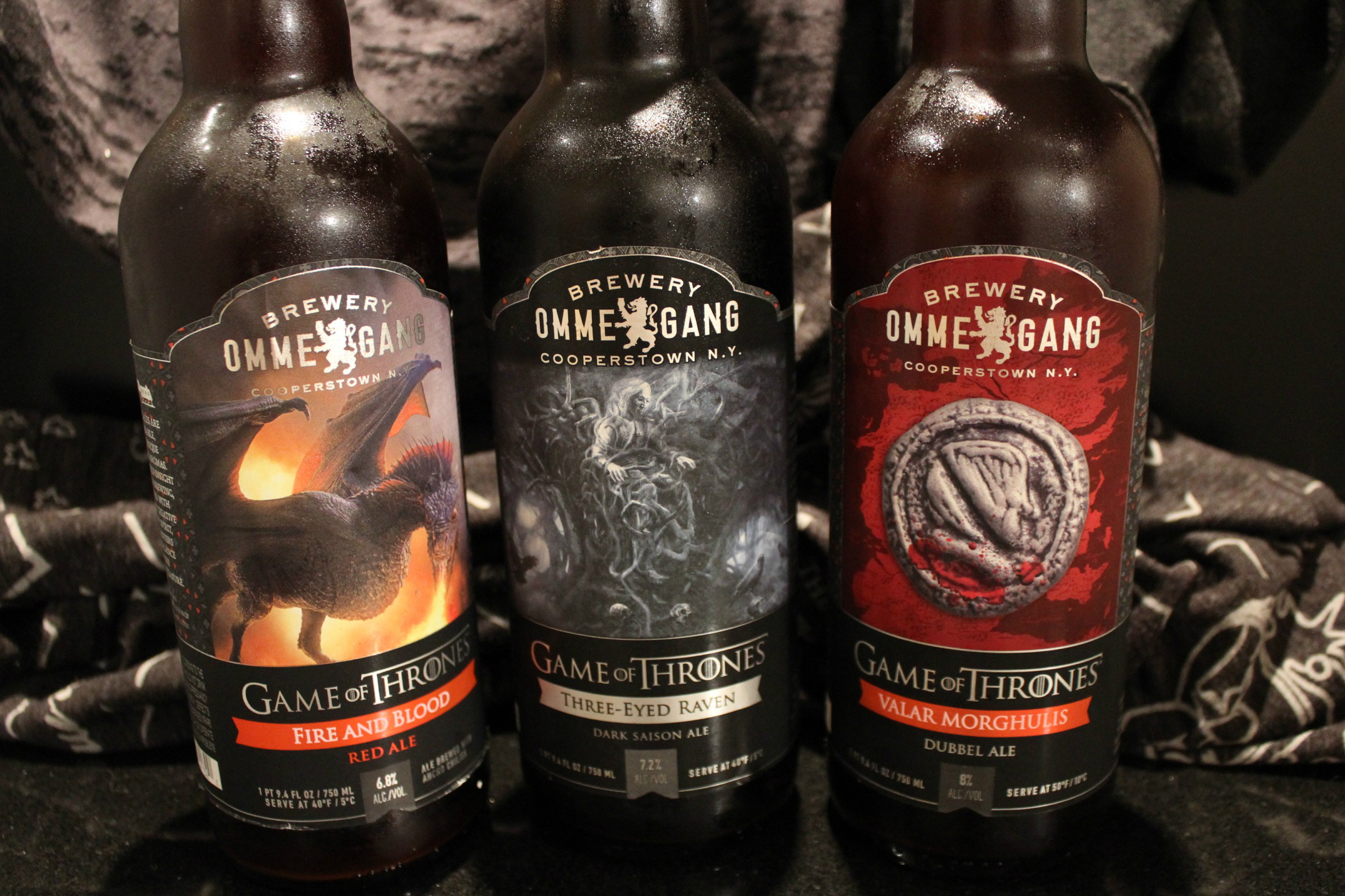 Game of Thrones  // Ommegang Partnership