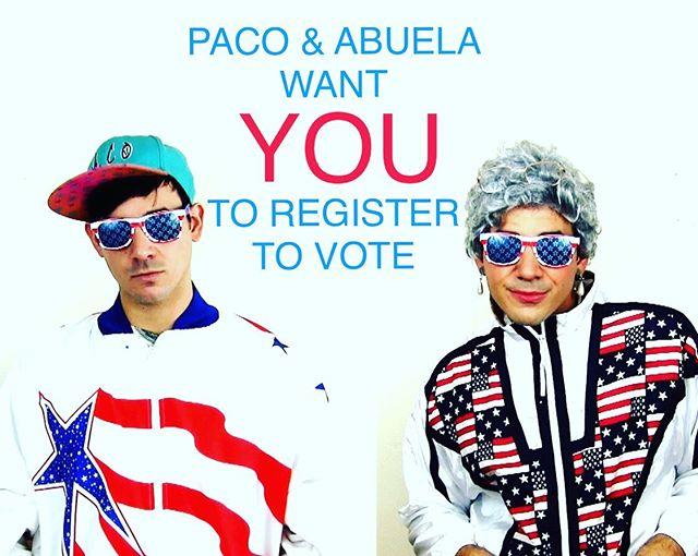 ¡¡OYE. REGISTER!! LET'S NOT REPLAY 2016, SHALL WE? #nationalvotingregistrationday