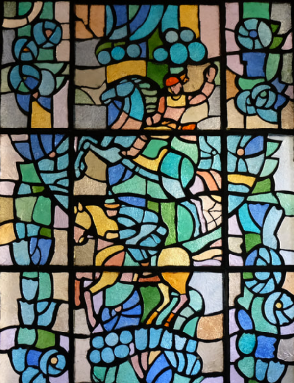 Kazakh Stained Glass