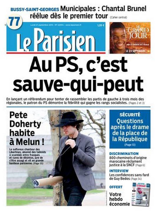 ANDY PICCI x PETE DOHERTY - LE PARISIEN