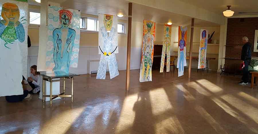 Luminous Bodies Residency Exhibition - Artscape Gibraltar, Toronto Island, Toronto, Canada 2017