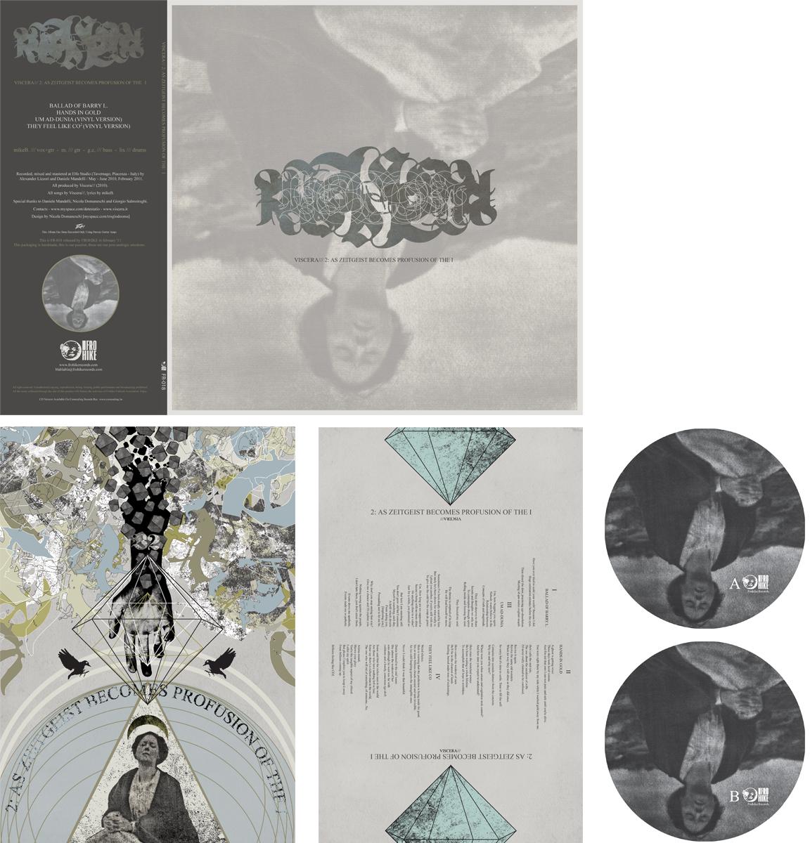 Mount Fog - Viscera/// 2 - As Zeitgeist Becomes Profusion of the I artwork Nicola Domaneschi