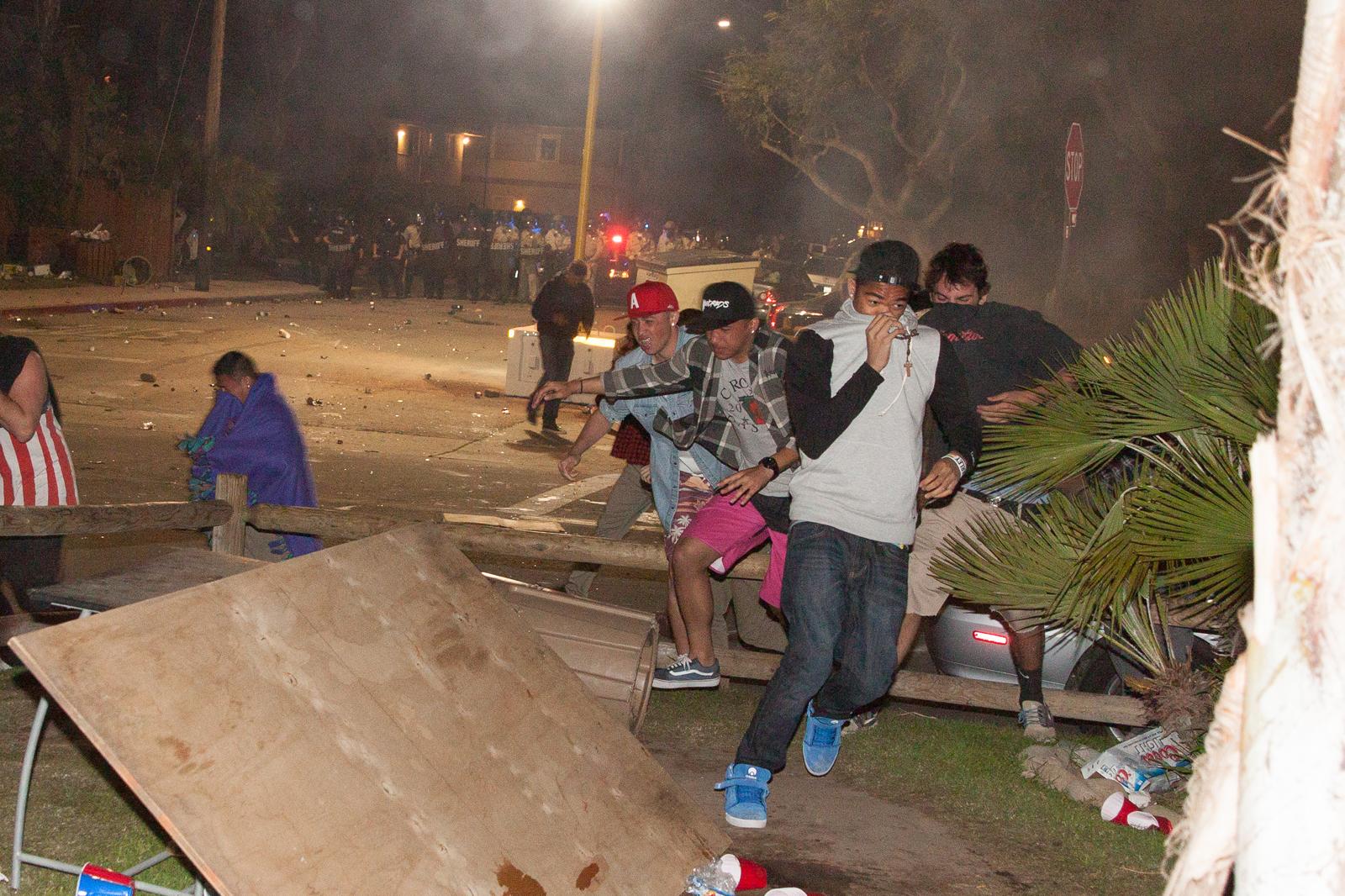 Deltopia Riots