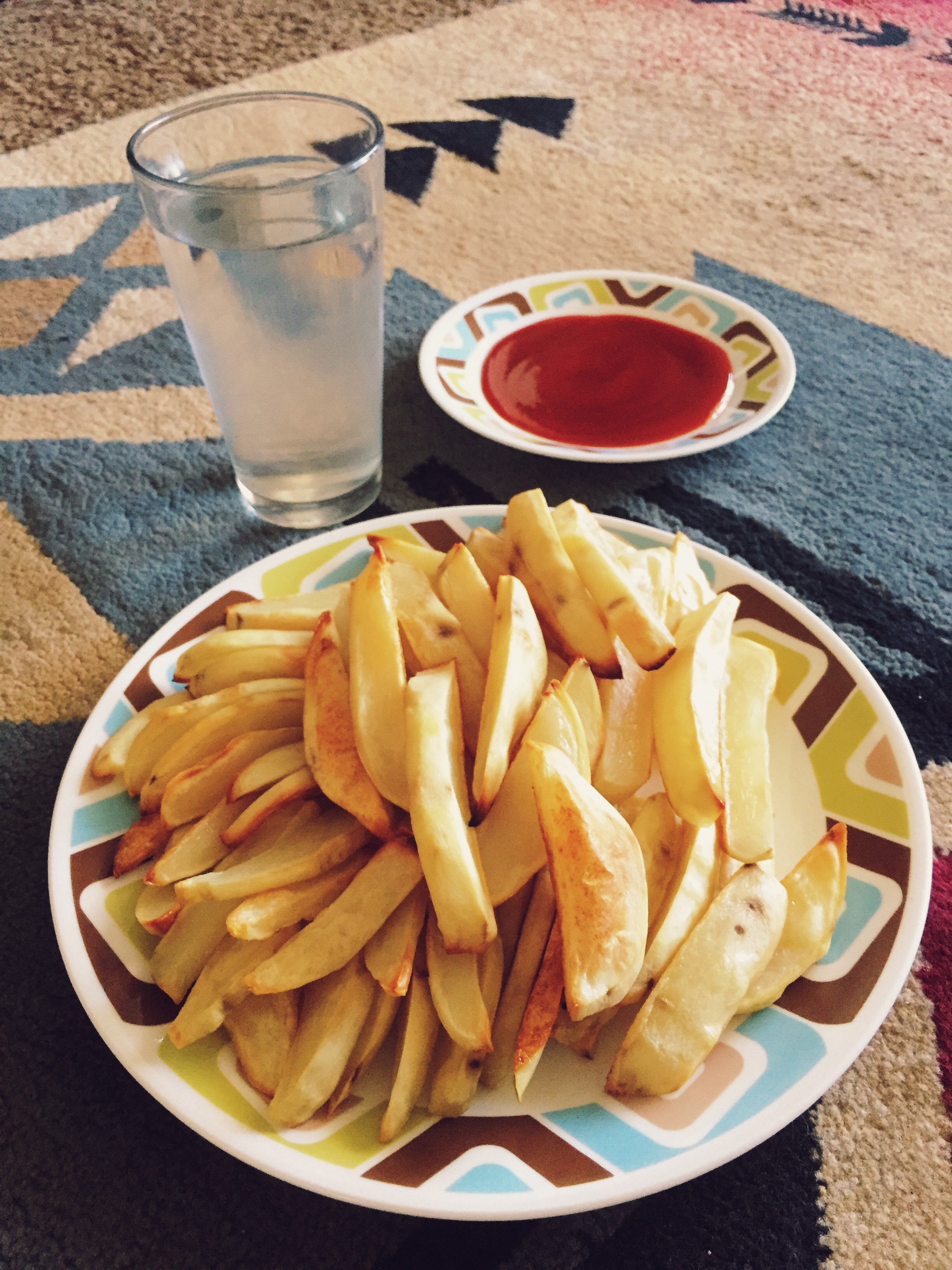 Chippies (potato wedges) are your best friend.