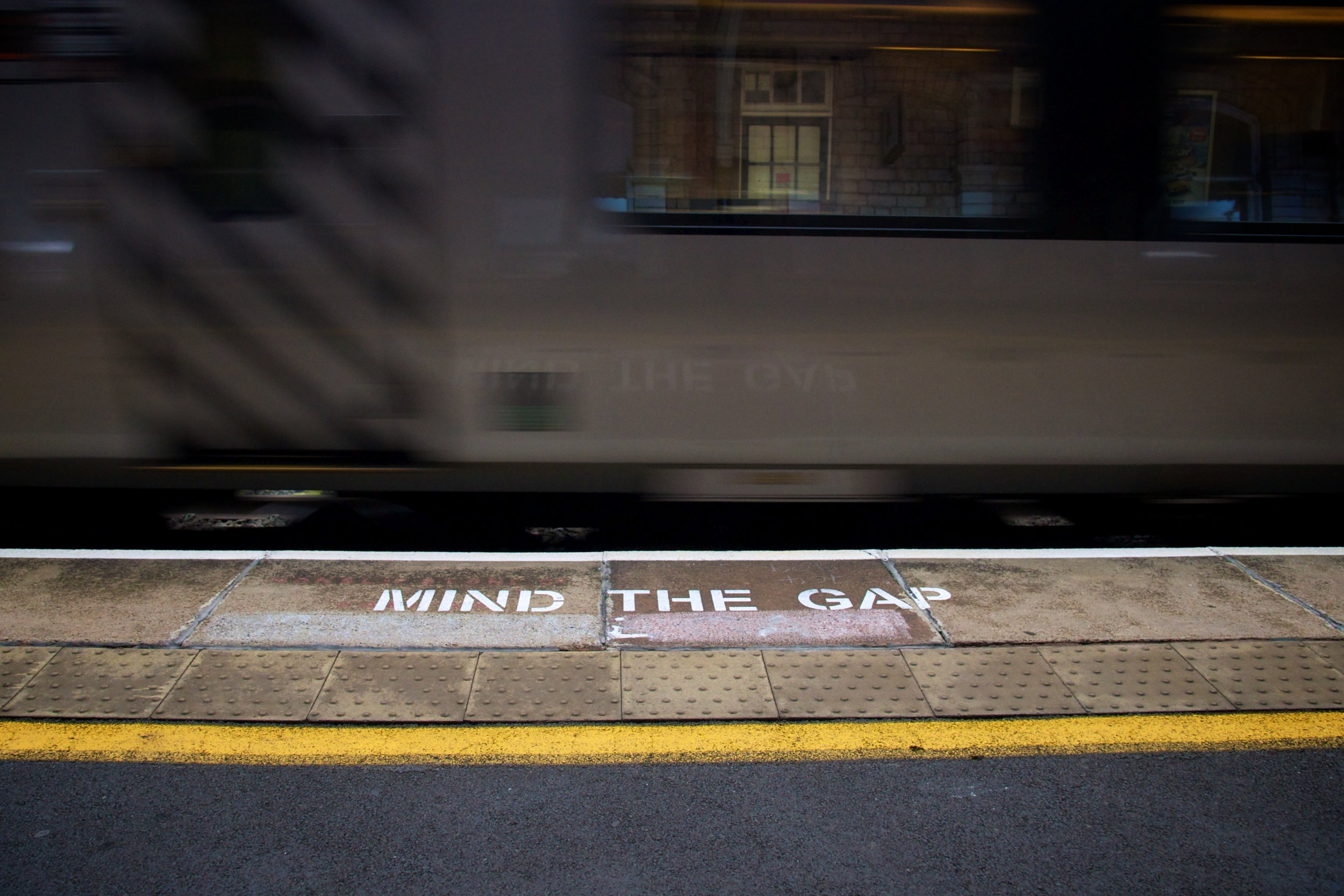 Day 11 - No, Really, Mind the Gap by  Marcus Peaston