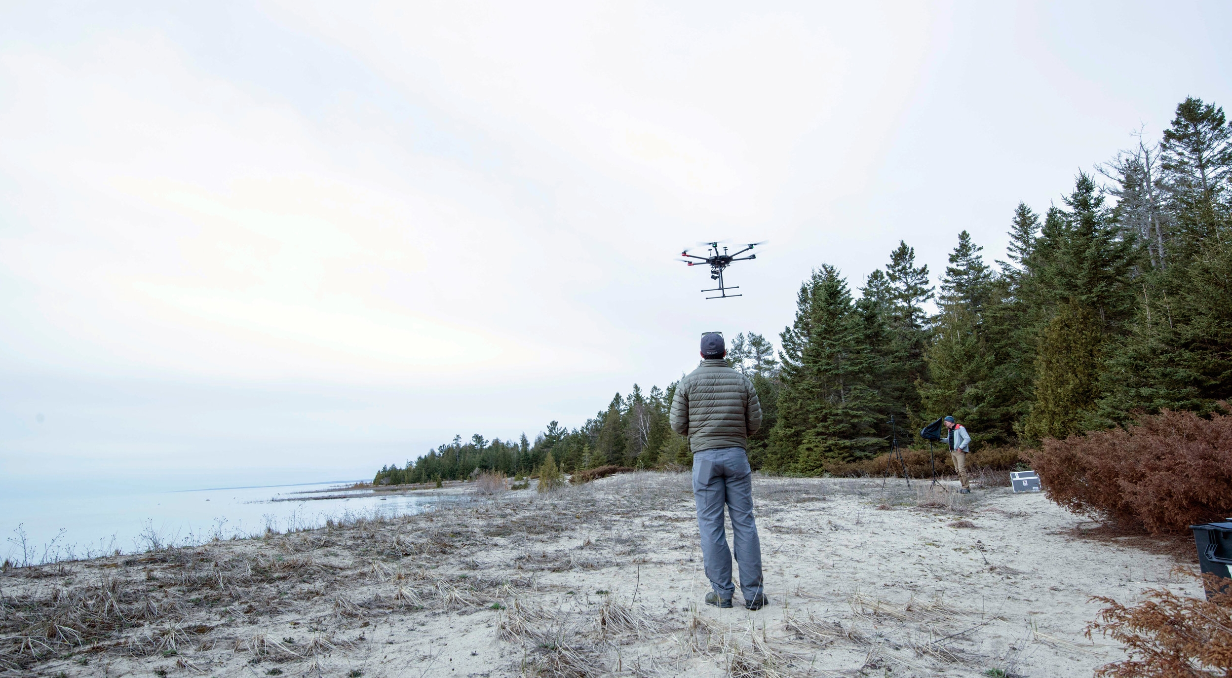 JR flying with NOAA to search for shipwrecks in the Great Lakes