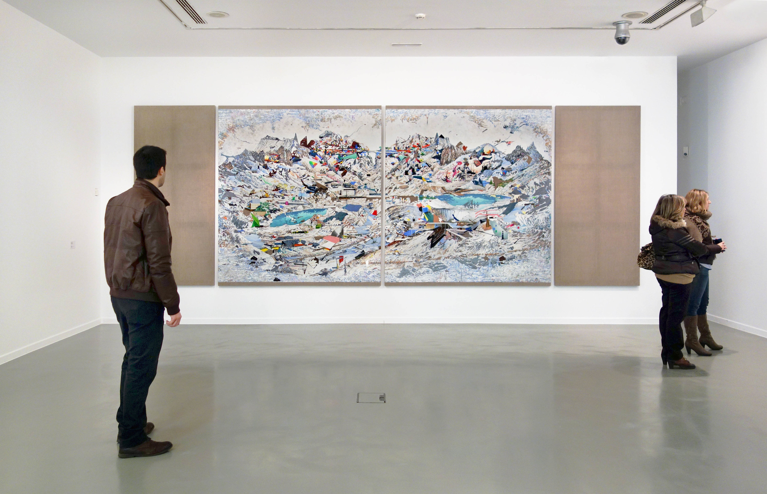 Vista de exposición. Premio Generaciones 2013. La Casa Encendida, Madrid, 2013