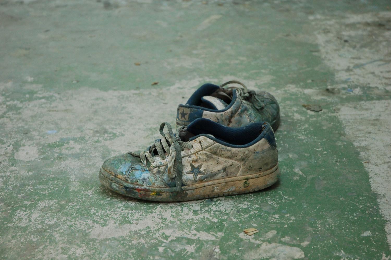 Zapatillas de trabajo.