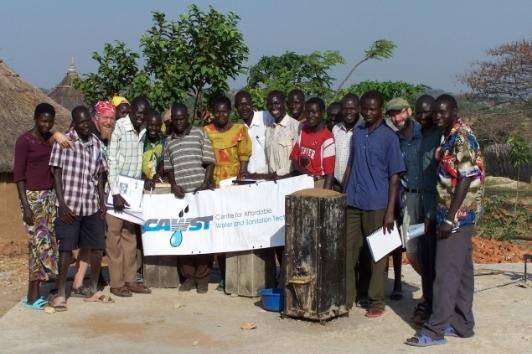 Biosand Filter Implementation Workshop (Train the Trainers), Kajo Keji, South Sudan, February 2007.