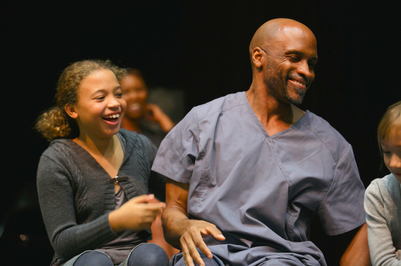 "Michael and Naomi Gibson, ""The Giver,"" DRT Nov.. 2015"