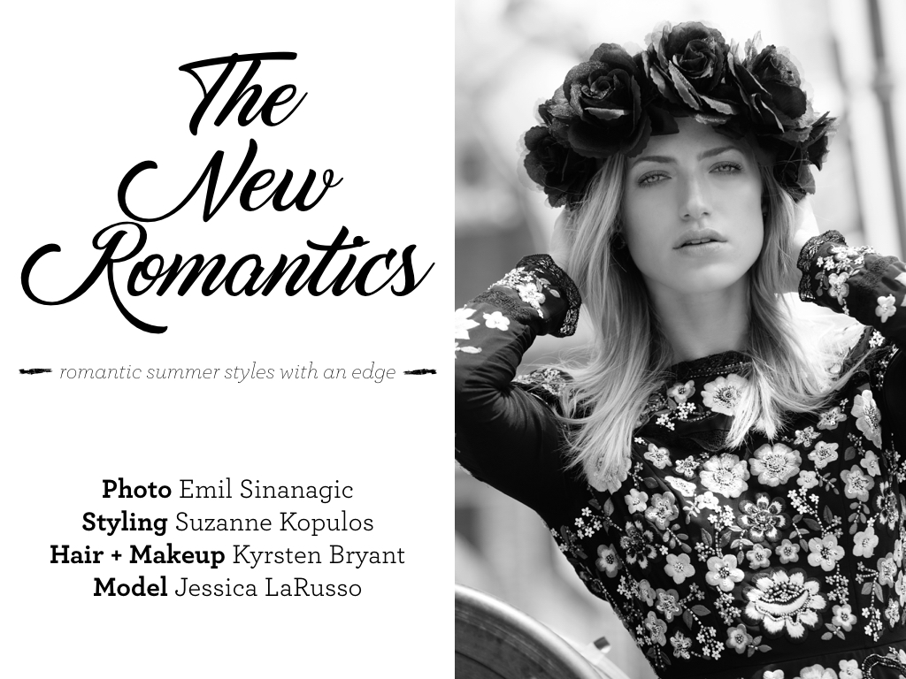 Suzanne Kopulos Stylist New Romantics Fashion Editorial