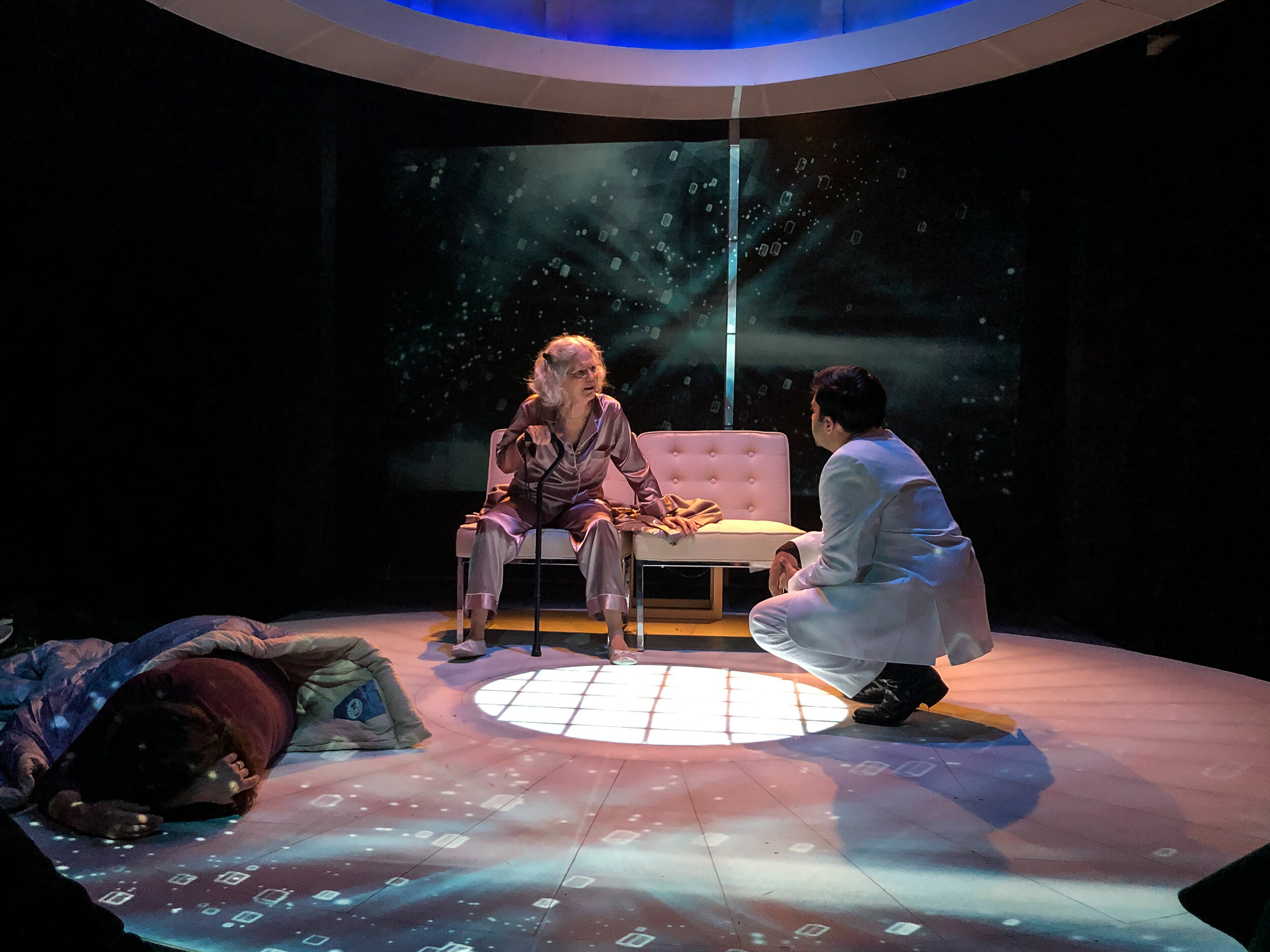Mosquitoes by Lucy Kirkwood at the Steep Theatre October 2019
