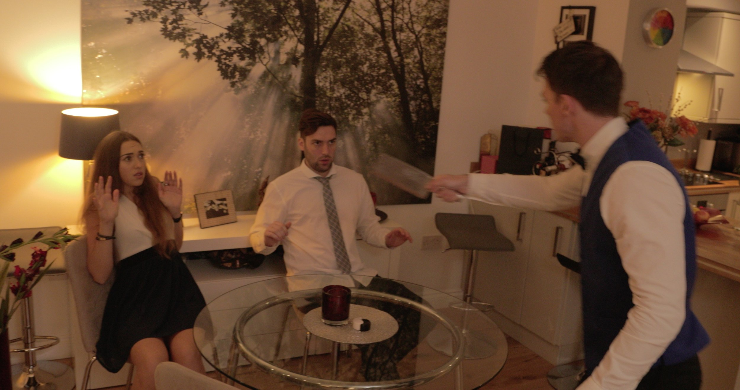 Pizza Night - Writer/Director - 10 min short film in 1 shot - 2017