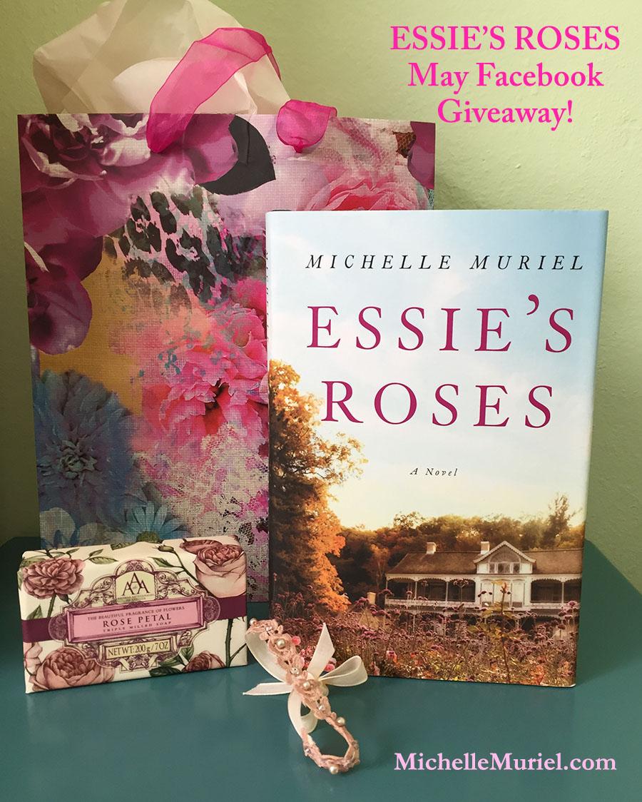 Michelle Muriel MAY ESSIE'S ROSES Facebook Giveaway www.michellemuriel.com