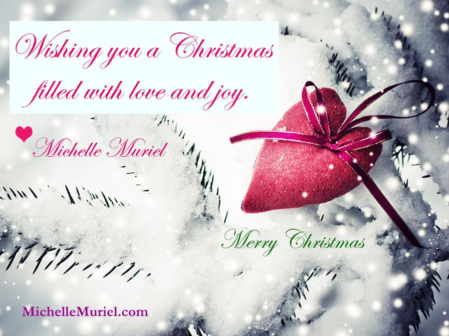 Merry Christmas www.MichelleMuriel.com