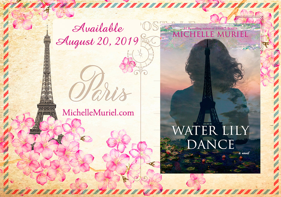 1 Paris Postcard Water Lily Dance a new historical novel by bestselling author Michelle Muriel.jpg