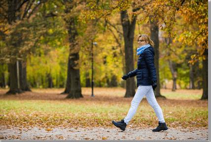 Middle age woman walking www.EmeraldCityAikido.com.png