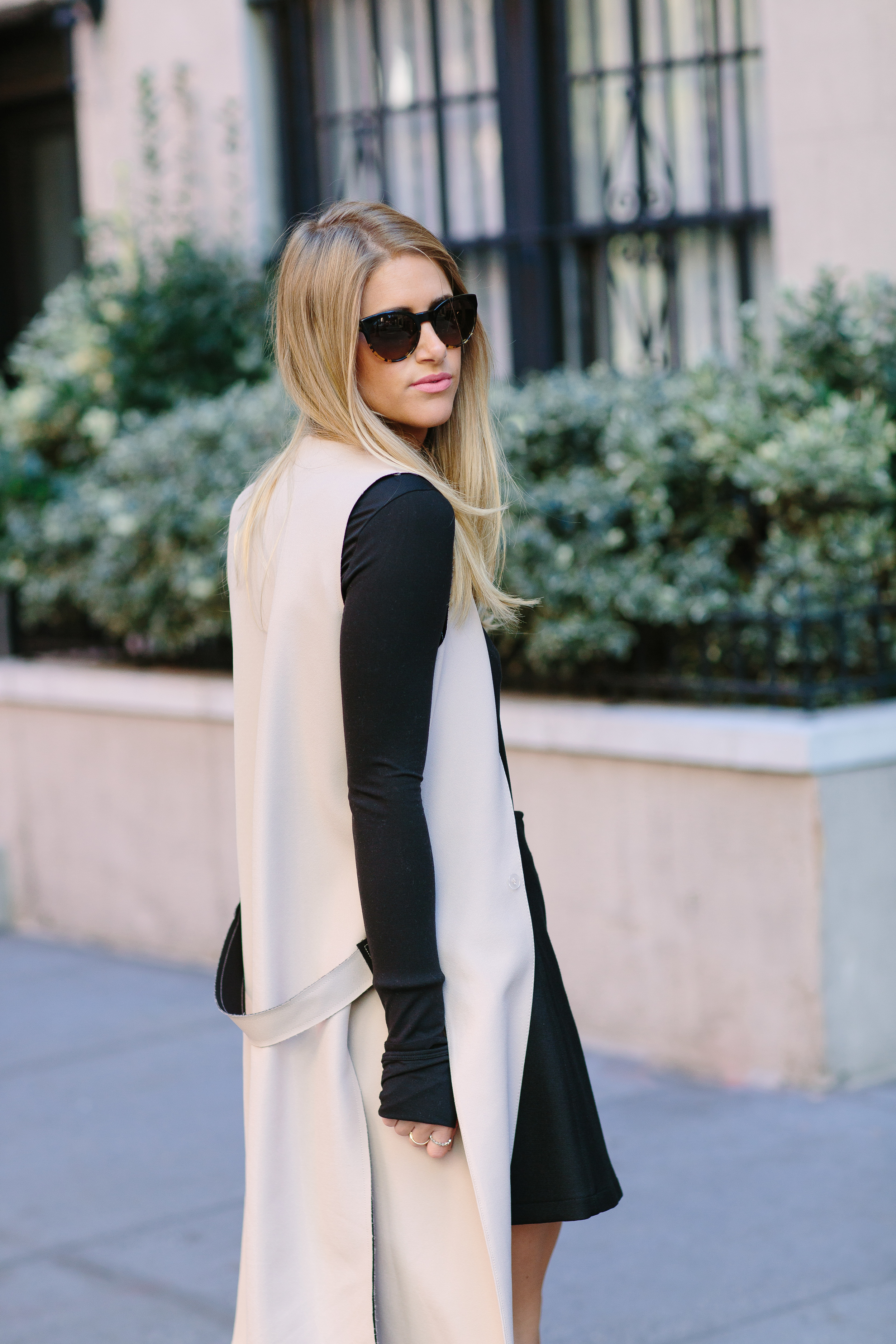 Fall's Power Staple: A Long Vest — FASHION AMBITIONIST