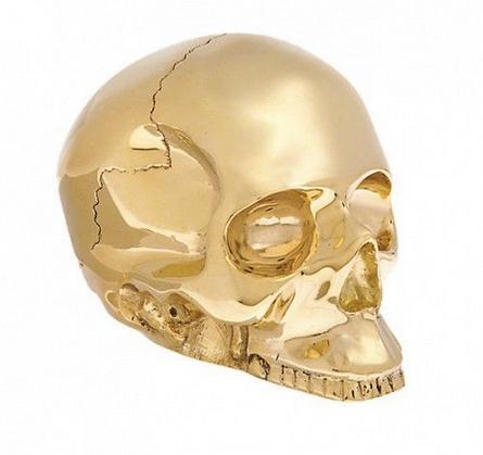 D.L. & Co Large Skull Effigy, $195