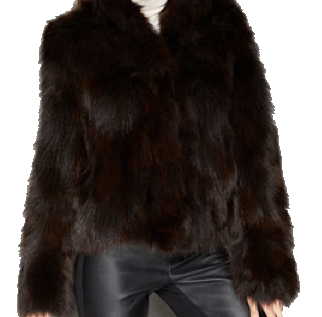 Fox Fur Jacket, $699