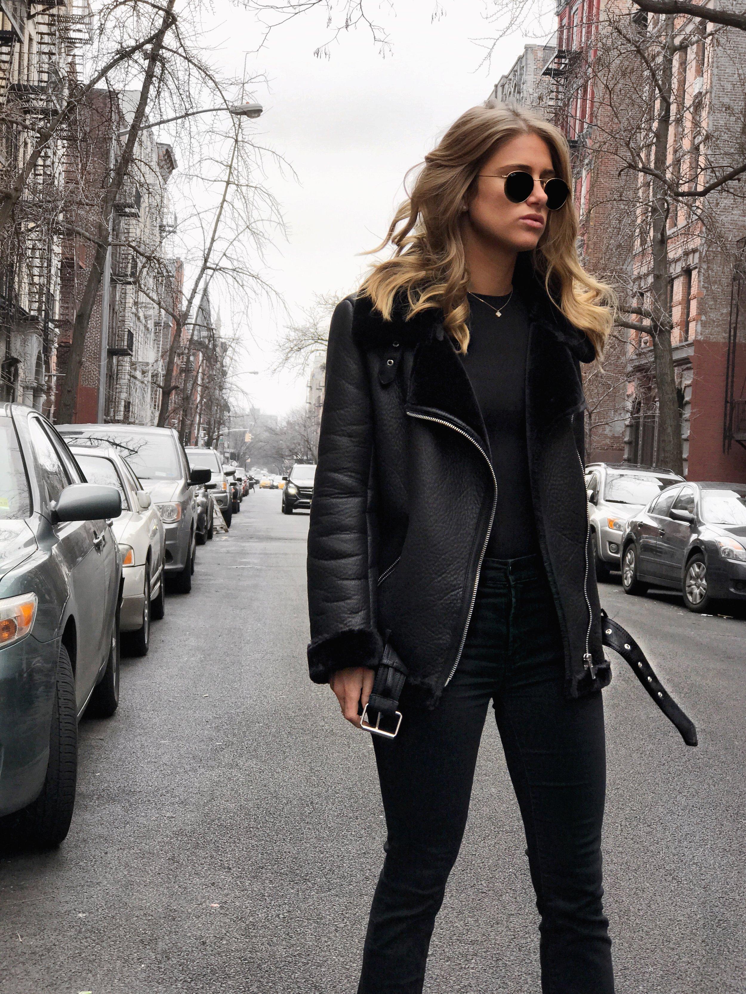 Faux Fur Jacket, $169
