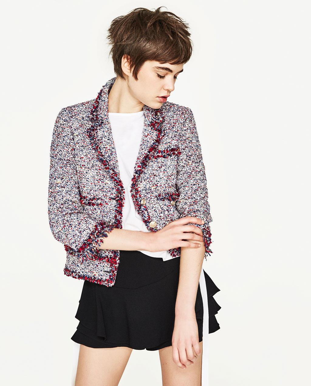 Frayed Blazer, $149