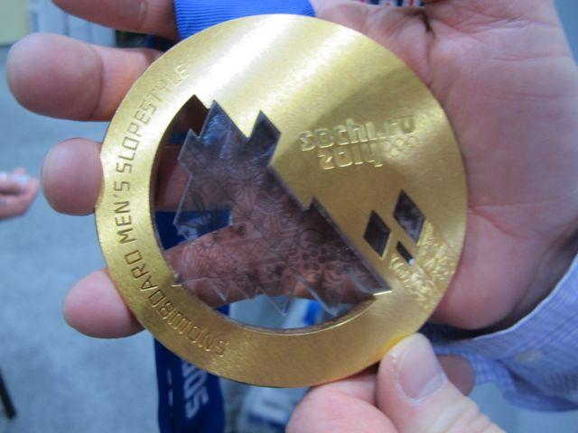 Sage's gold medal.
