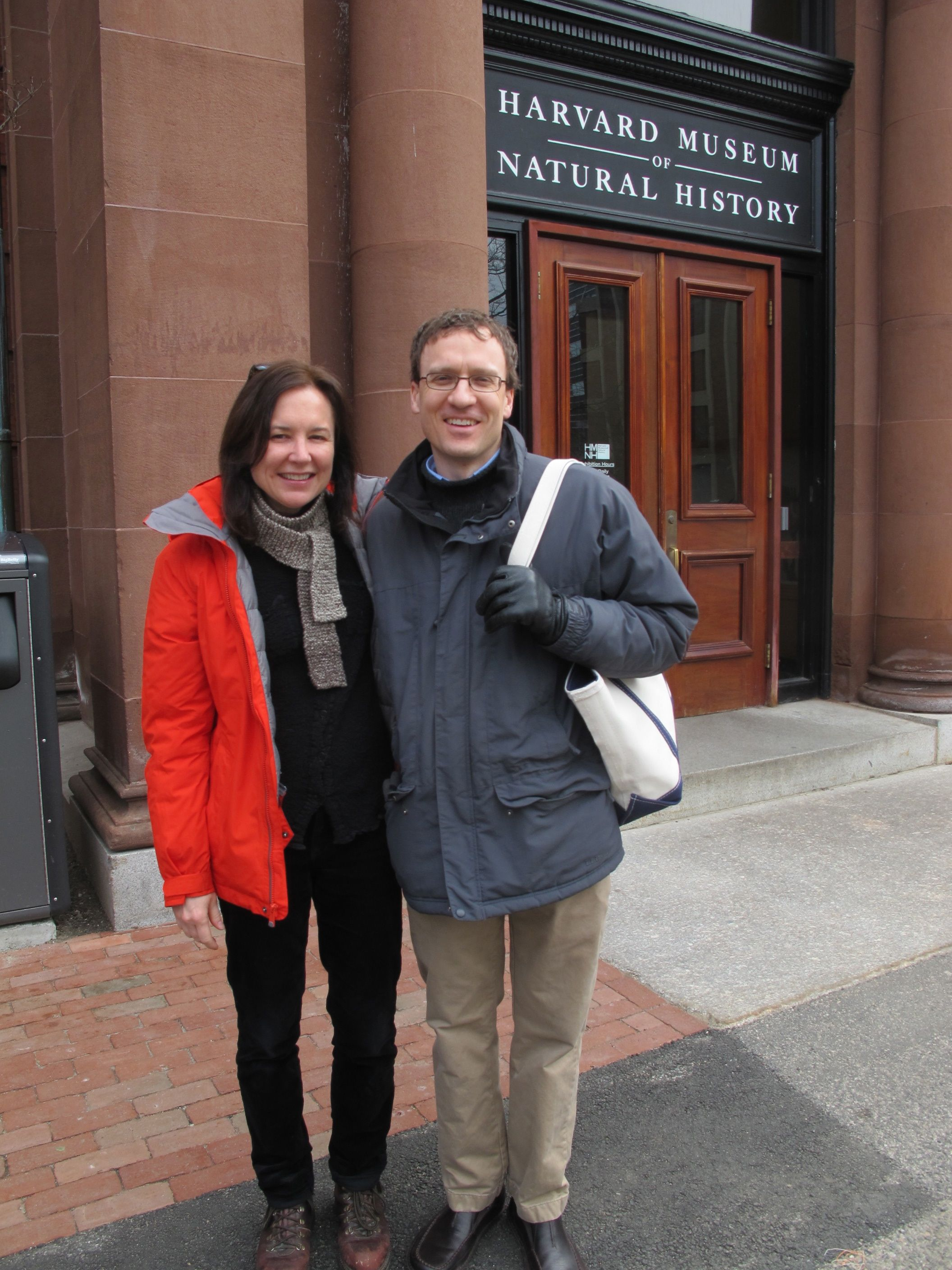 Harvard entomologist and author Michael Canfield gave us a historical tour of the Museum of Natural History and the Museum of Comparative Zoology,which is not open to the public. Mike's last book was Field Notes On Science and Nature, on which he collaborated with such great scientists as E.O. Wilson, Bernd Heinrich, George Schaller and Piotr Naskrecki.  Just wait until his next book comes out—you'll love it.