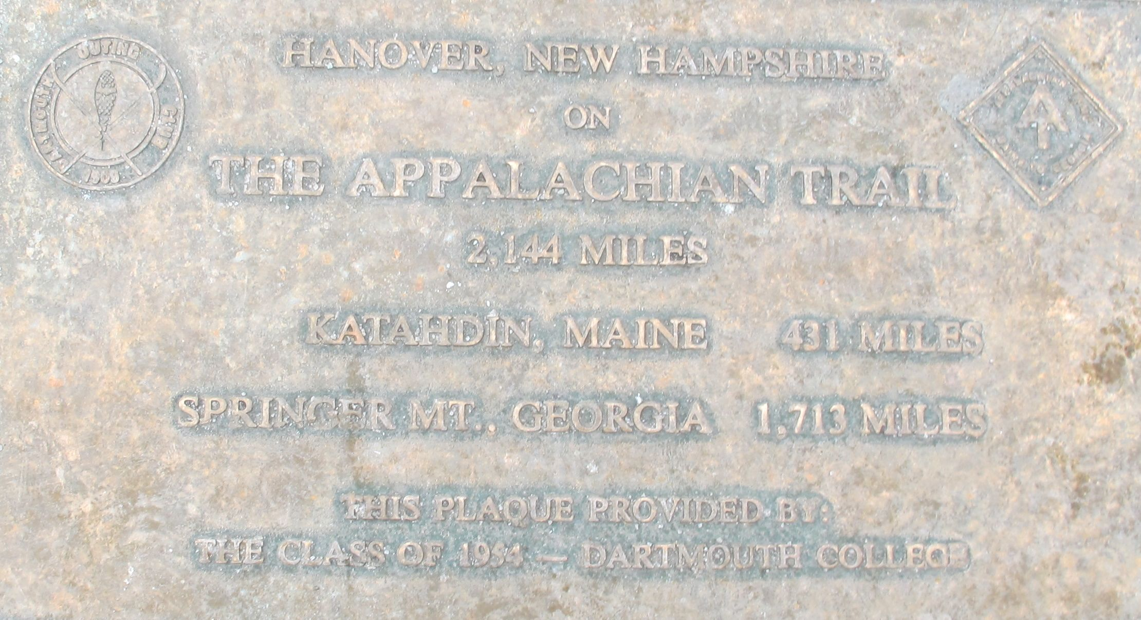 If you walk on Main Street in Hanover, you are also walking on the most gentrified portion of the Appalachian Trail. We chose not to hike the 341 miles to trail's end at Mount Katahdin in Maine.