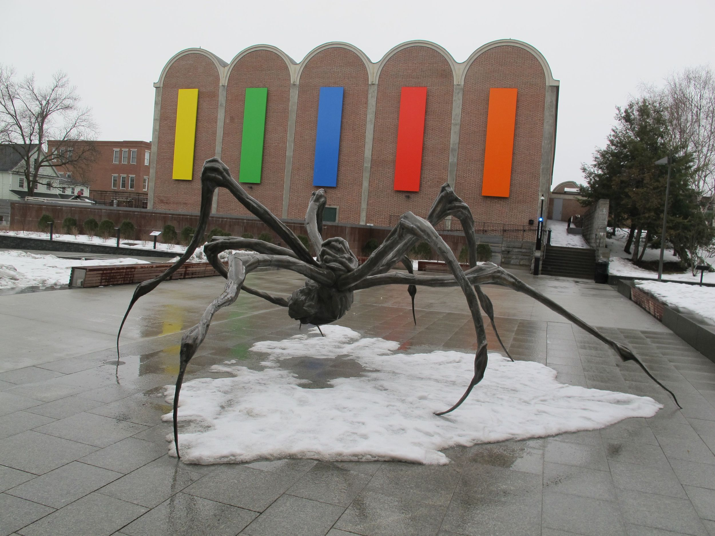 Louise Bourgeois' Crouching Spider
