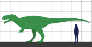 Here's how a Yutyrannus would have looked next to a human.