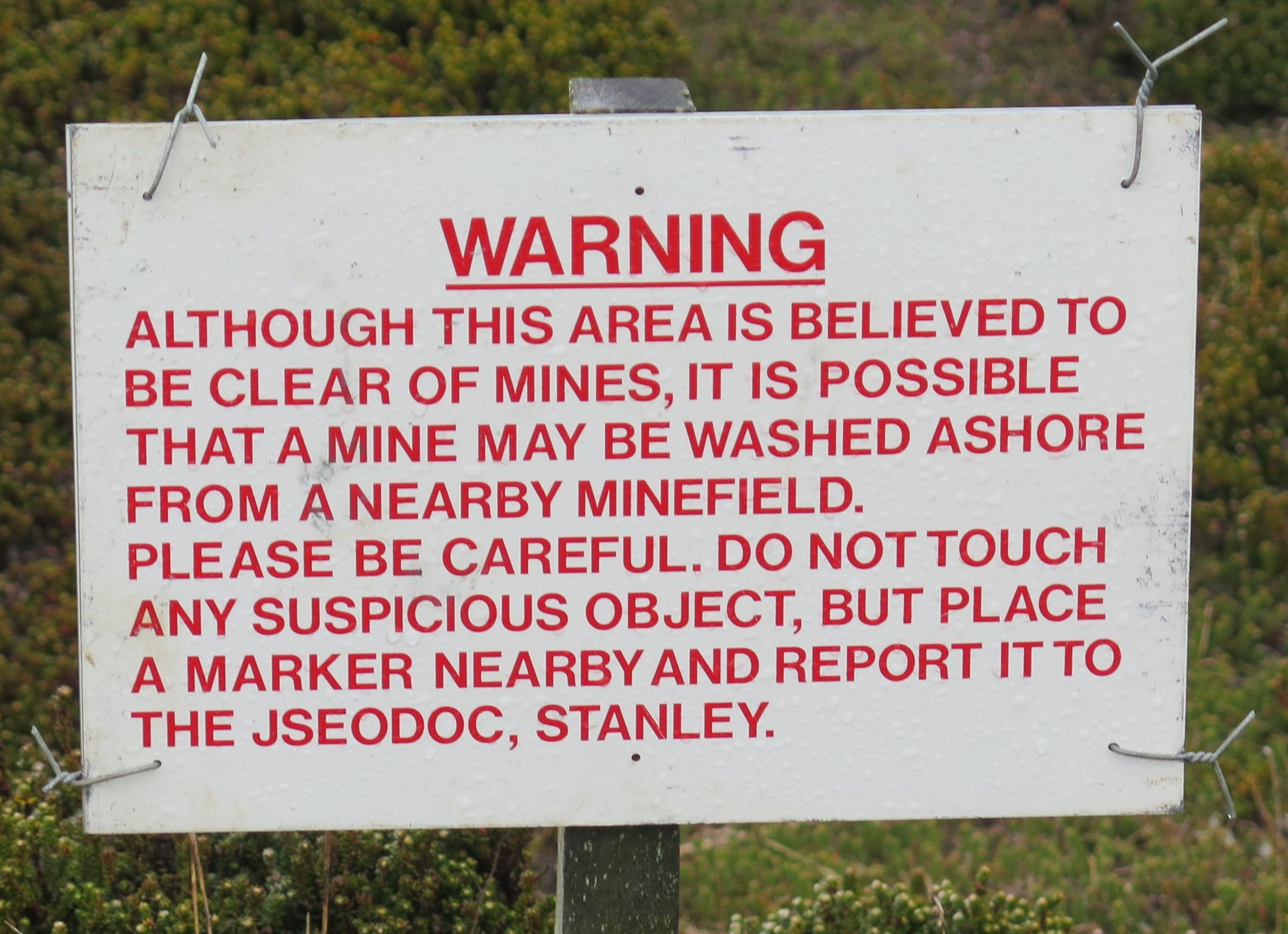 Warning heeded.