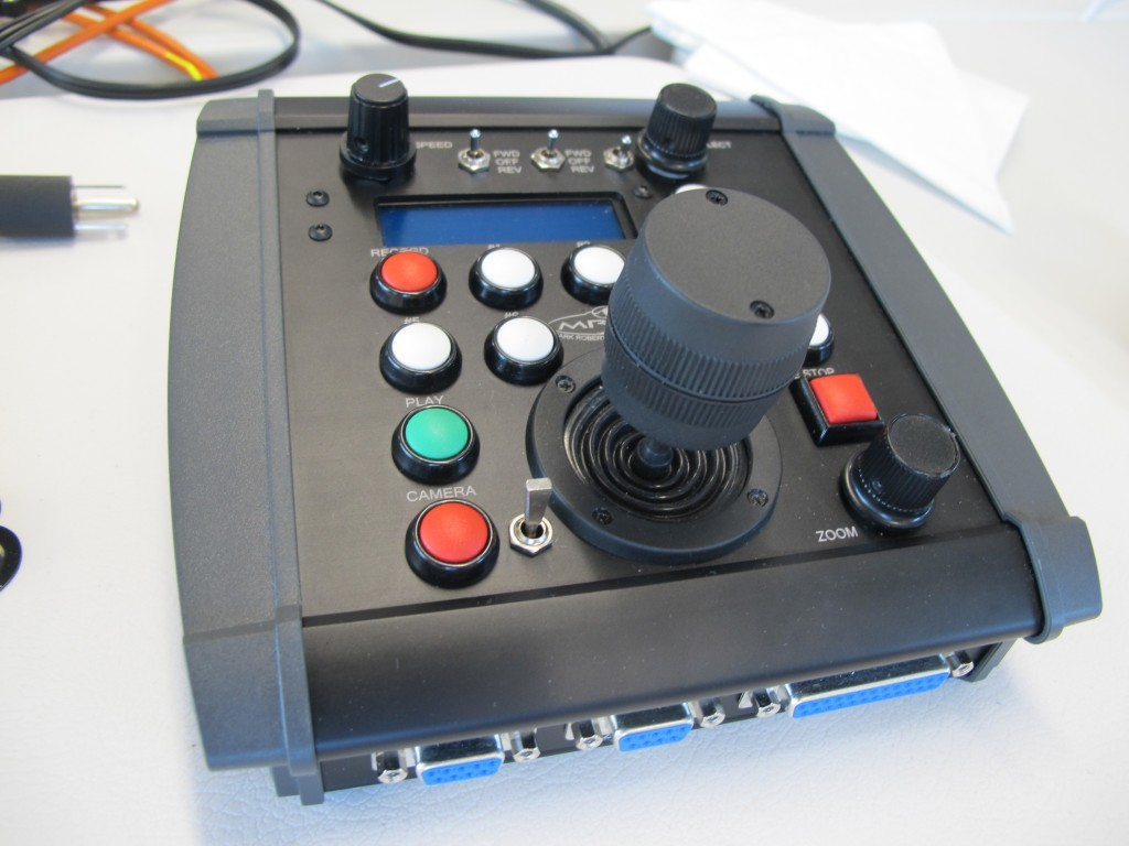 SI's photographers set up remote-control cameras in many of the venues. This is the device used to control them.