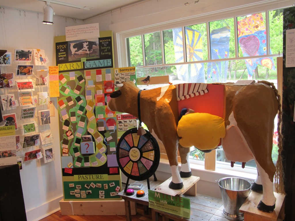 Millie the milkable cow is back, along with our spin-the-wheel, answer-the-questions Farm Game.