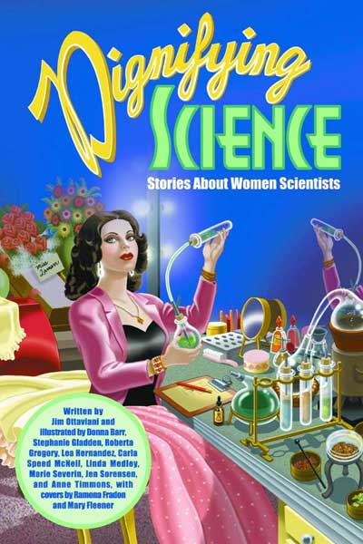 Hedy Lamarr was one of the women scientists featured in this book.