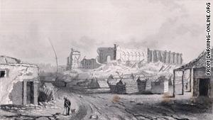 Concepcion, Chile, after the 1835 quake.