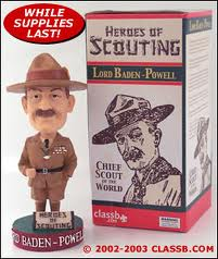 The Baden-Powell bobblehead