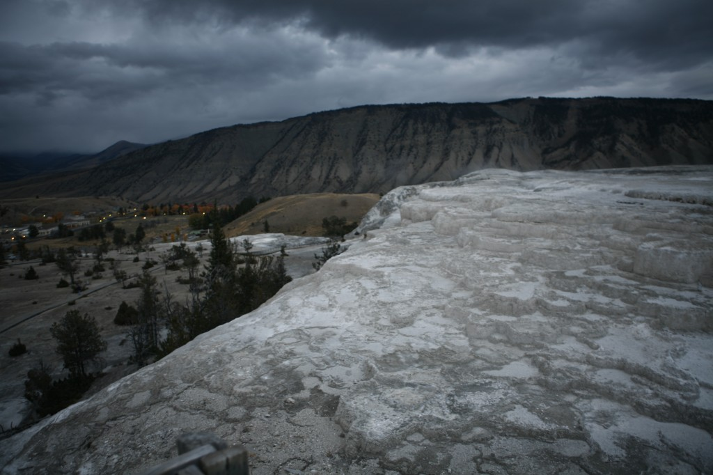 More from Mammoth Hot Springs.