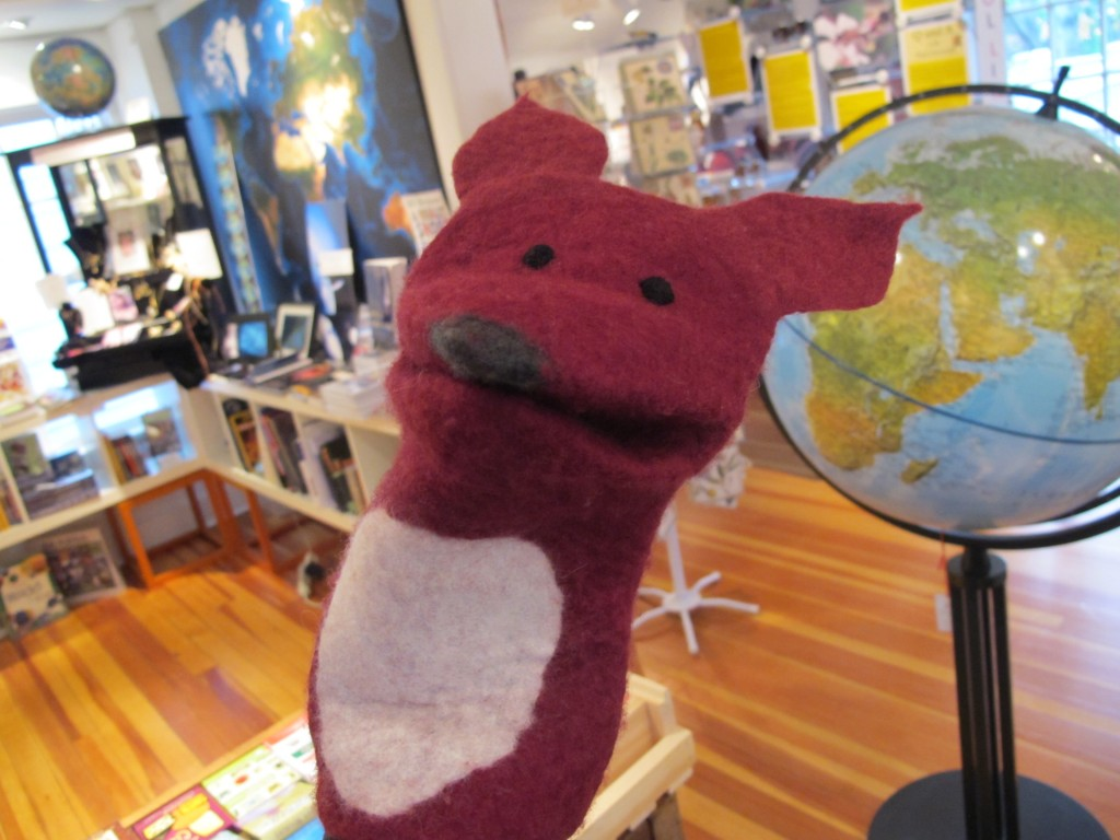 Goodbye, Fantastic Mr. Fox: One of our favorite Notebook characters, a felted puppet with a heartfelt look, got a new adoptive family on Saturday, but said he might come back to visit.