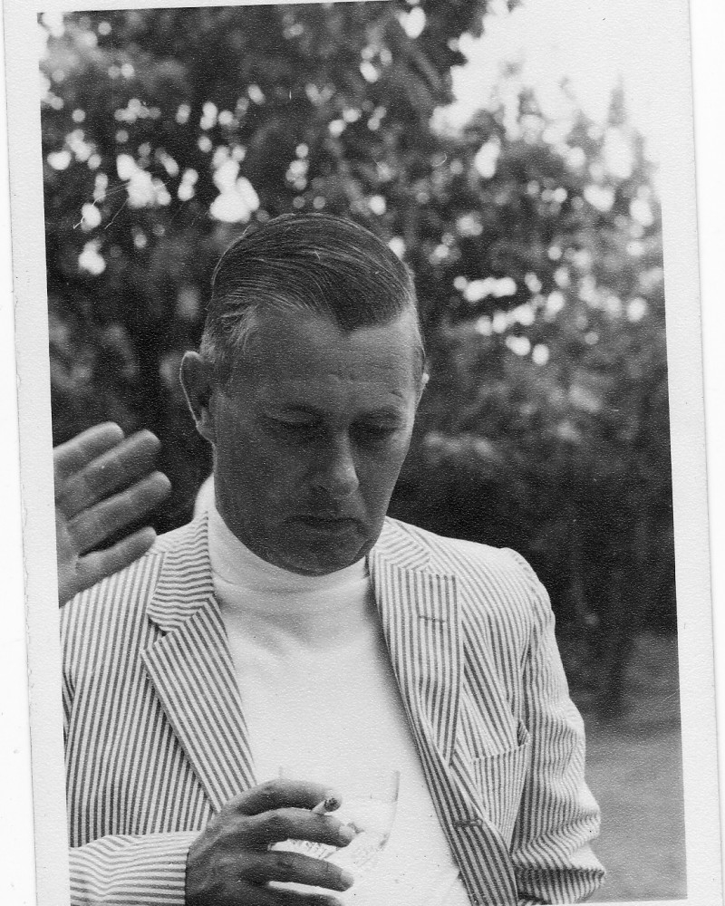 One of Pamelia's favorite shots of her dad, also taken in the 1960s in Europe, where the family lived during a big chunk of Pamelia's childhood.