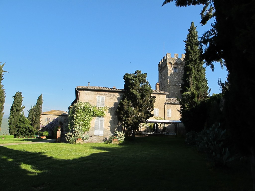 The nearly thousand-year-old Spannocchia farm complex hosts guests, workshops and educational programs.