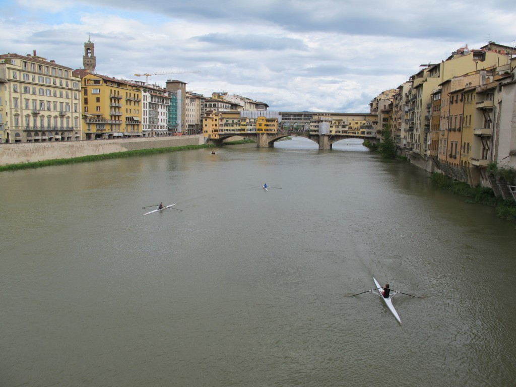 Florence's famous Ponte Vecchio bridge over the Arno pre-dates the Renaissance.