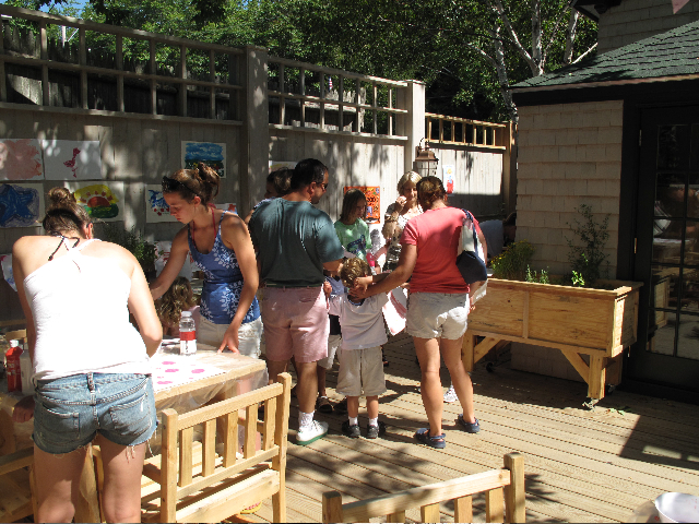 The Notebook has art workshops and open drawing sessions all summer on its Natural History Deck.