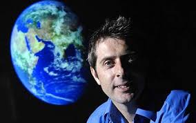 IAIN STEWART , geologist,BBC science-documentary presenter, host of  Earth: The Biography  series,member of the scientific board of UNESCO's International Geoscience Program, and director of the Sustainable Earth Institute; professor at the University of Plymouth in England
