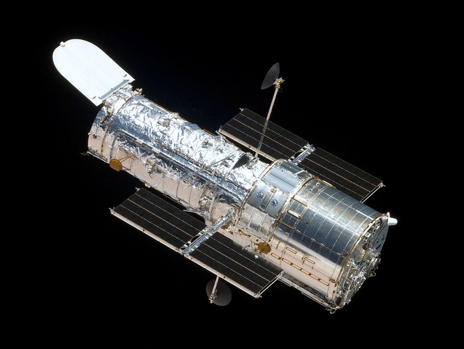 The Hubble telescope (photo courtesy of NASA)