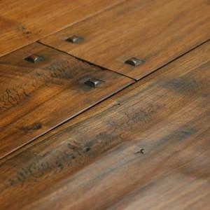 Murray Millwork - Custom Luxury - Hand Scraped - Hardwood Flooring - Walnut