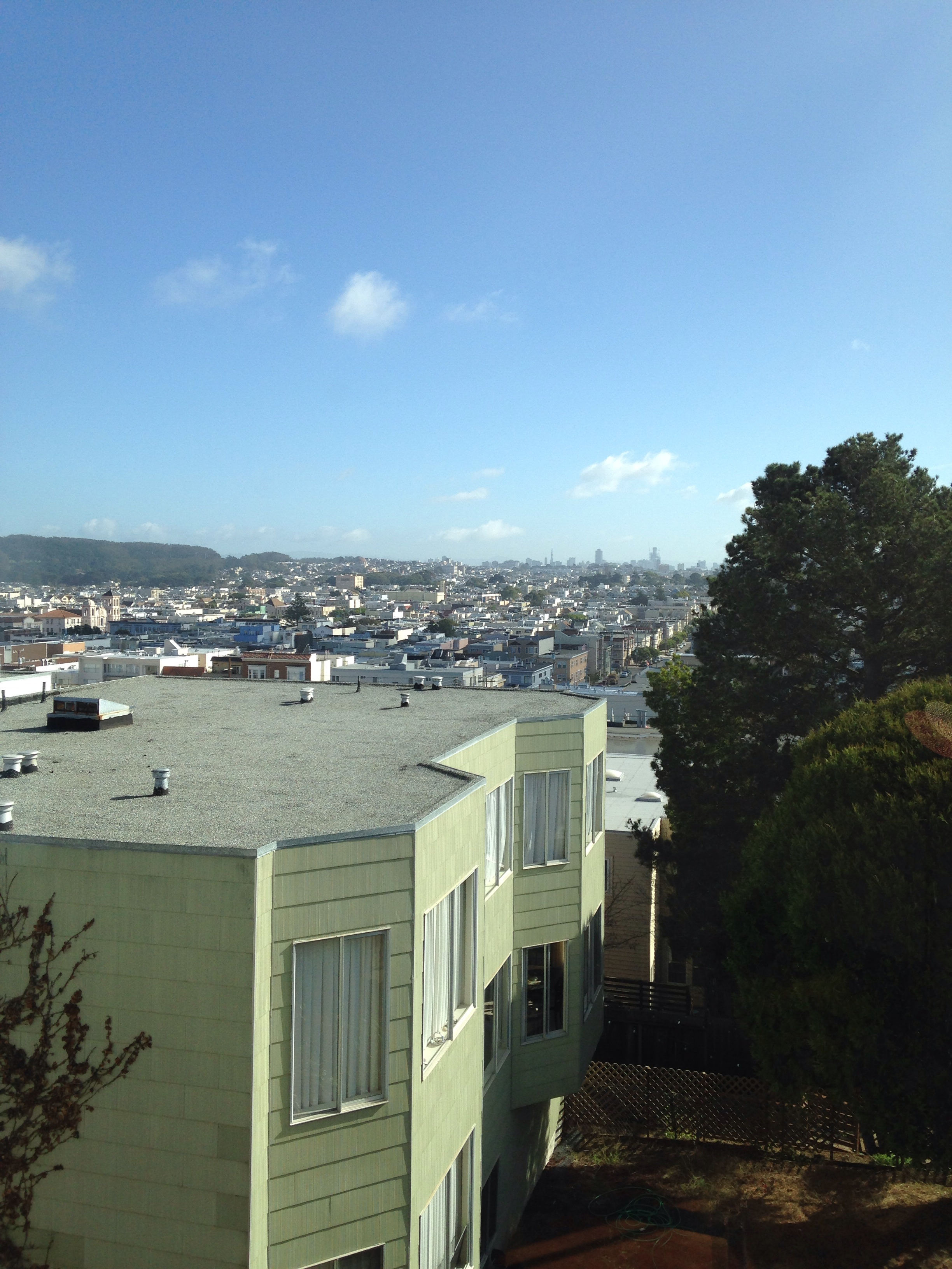 View from 28th and Anza