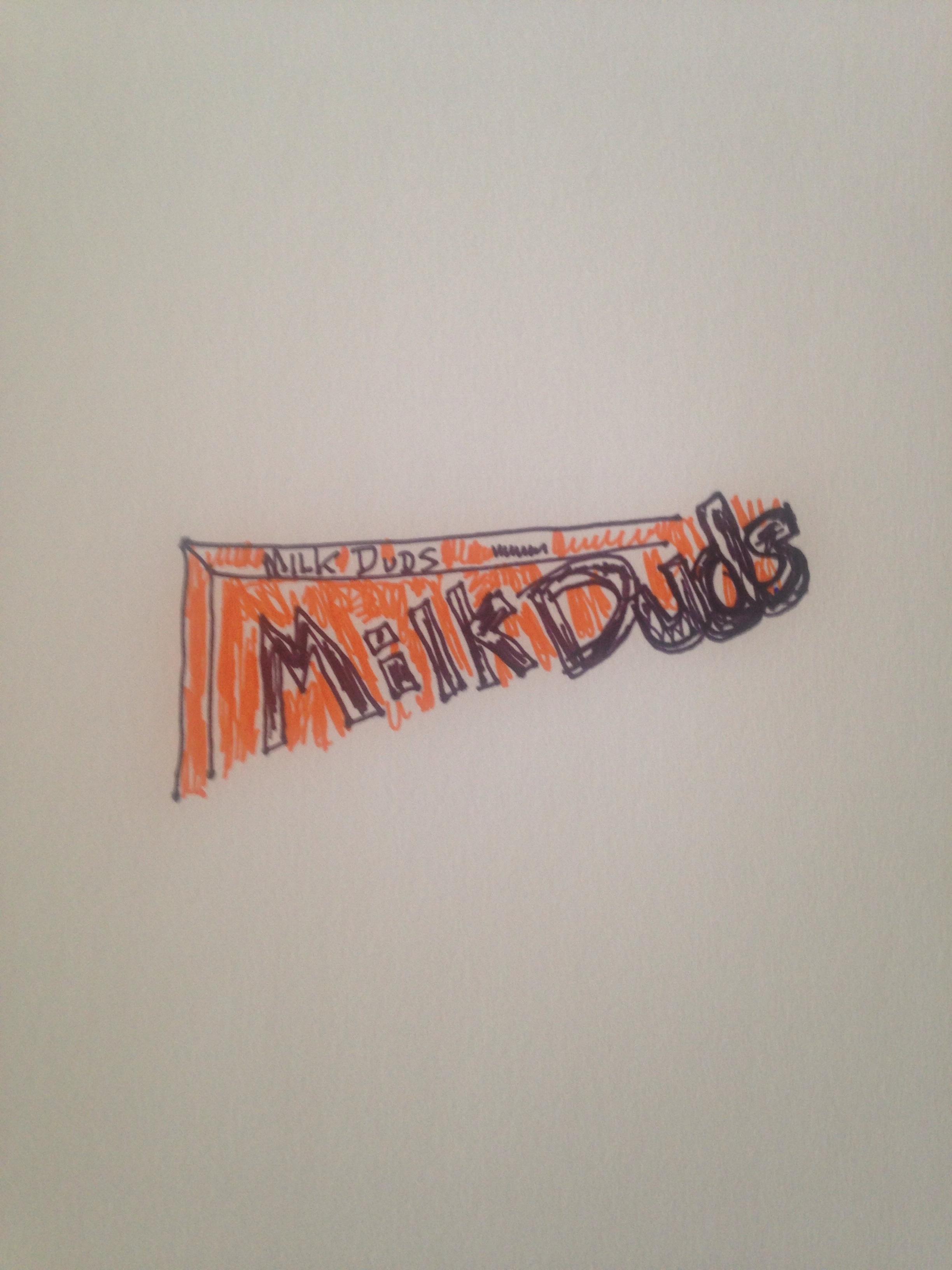 Milk Duds, 5 oz. box, artist rendering, December 22, 2016.
